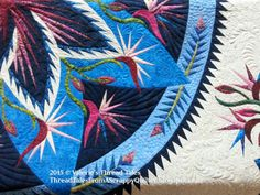 Thread Tales from a Scrappy Quilter: Lou Ann's Paradise in Blooms