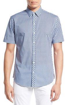 Zachary Prell 'Lovell' Trim Fit Plaid Sport Shirt