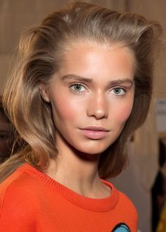5 fall makeup trends: the no-makeup makeup look en. 5 Herbst-Make-up-Trends: der No-Make-up-Look en. / 5 Herbst-Make-up-Trends: Der Look ohne Make-up fr. Nude Makeup, Beauty Makeup, Hair Makeup, Hair Beauty, Makeup Trends, Beauty Trends, Beauty Hacks, Blonde Grise, Corte Y Color