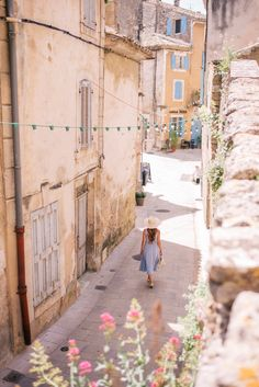 Gal Meets Glam Oppede, Menerbes & Bonnieux, Provence - Privacy Please dress, Cuyana hat, Sezane flats & Carolina Santo Domingo bag New Travel, Travel Goals, Gal Meets Glam, Provence France, France Travel, Travel Europe, Adventure Is Out There, Travel Pictures, Countryside