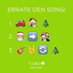 Um dir die Weihnachtszeit zu versüßen, gibt es hier das zweite Rätsel: Welche Weihnachtssongs suchen wir? 🎼🎅 Schon erkannt? Dann nichts wie los, in die Kommentare damit und ein VABO-N Überraschungspaket gewinnen! 😍 Der Gewinner wird per Zufall unter den richtigen Kommentaren gelost! Viel Glück & KEEP LISTENING TO CHRISTMAS SONGS! 🎧🎄 Holidays, Songs, Movie Posters, Brand Ambassador, Low Fiber Foods, Collages, Immune System, Christmas Time, Holidays Events