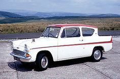 Anglia Deluxe - actually did own one of these for a short time... it was dark green though.