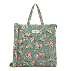 New Prints | Kingswood Rose Double Handle Cotton Bag | CathKidston