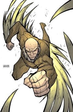 Vulture, over 70 and still a better villian than anyone in DC comics.