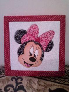 Caixa Patch Embutido Minnie | HELÔ SILVA BORDADOS | Elo7