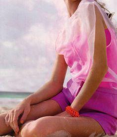 magenta, neon pink