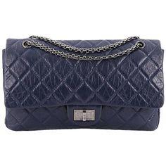 ad5b1e013b64 Chanel Reissue 2.55 Handbag Quilted Aged Calfskin 227