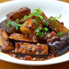 Spicy Sichuan Eggplant - Would be great with #Emerils sauces http://www.emerilscooking.com/ #BAM #hot