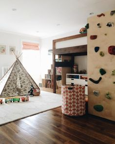 Rearrange the boys' room for more storage in the steps.