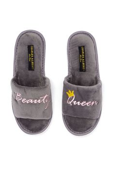 fdfa6f2287 Beauty Queen Slippers, DARK GREY, hi-res Fur Slides, Your Style,