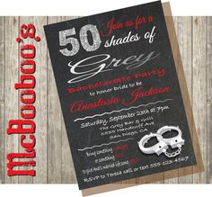 how to host a fifty shades of grey ladies night party 50 shades of grey bachelorette party invitation elegant and perfect for the party