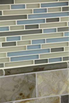 Tomei Glass, 3 x 6 Slate from Stone & Pewter Accents