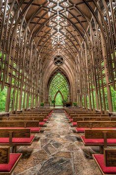 Thorncrown Chapel in Arkansas