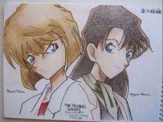 Akemi Miyano and Shiho Miyano  (Sherry/Ai)  #DetectiveConan