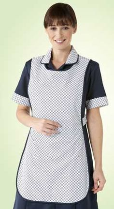 Tabard apron, for doing housework