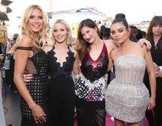 Pin for Later: Les 22 Meilleures Photos des Billboard Music Awards Heidi Klum, Mila Kunis, Kristen Bell, et Kathryn Hahn