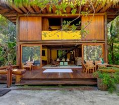 Trancoso Apartment Rentals, Vacation Homes, Villa Rentals Cool Tree Houses, Box Houses, Bungalows, Villas, Rest House, House 2, Small Country Homes, Bamboo House Design, Bahay Kubo