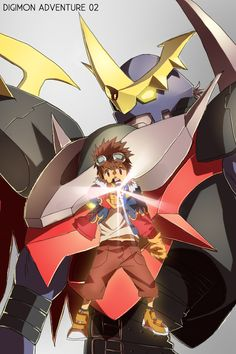 Digimon <3 I can remember I used to watch it when I was younger, I loved it ~ Hen