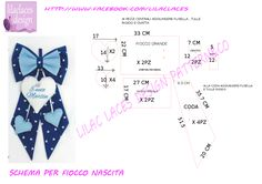 Best 11 birth ribbon pattern , no problem! cartamodello fiocco nascita , no problem Diy Projects To Try, Sewing Projects, Felt Name, Baby Co, Baby Drawing, Felting Tutorials, Lace Design, Hello Everyone, Crochet Baby