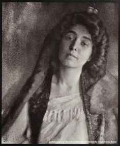 Portrait of Mercedes de Cordoba by Joseph Turner Keiley about 1902