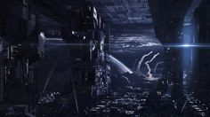 Echoes of Void by Mai Anh Tran | Matte Painting | 2D | CGSociety
