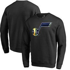 Utah Jazz Fanatics Branded Midnight Mascot Pullover Sweatshirt - Black #pulloveroutfit