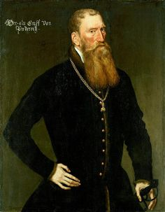 Reinaud III. von Brederode, Mr. von Vianen, Burggraf von Utrecht etc., Ratsherr und Kammerherr Kaiser Karls V., Oberjägermeister von Holland (1492 - 1556).