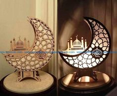 Ramadan Crafts, Ramadan Decorations, Laser Cut Box, Laser Cutting, Dream Catcher Wedding, Laser Cut Lamps, Laser Cutter Engraver, Aluminum Crafts, Ramadan Lantern