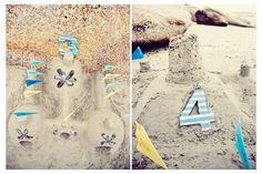 Beach Wedding Decor. Photo: Cari Photography