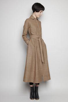classic & elegant: Totokaelo - Electric Feathers - Camille Coat Dress