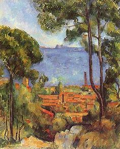 Cézanne, Paul    I love his gold and yellow tones.
