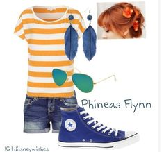 Phineas :) disney outfits :)