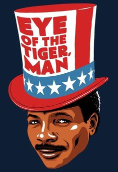 Apollo Creed - Rocky movies art find - eye of the tiger Rocky Balboa, Sylvester Stallone, Apollo Creed, Pop Art, Terry Lee, Dc Comics, Star Wars, Movie Poster Art, Cool Posters
