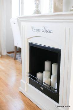 Coconut White: Valkoinen sisustustakka ja kynttilämeri + arvonnan voittaja