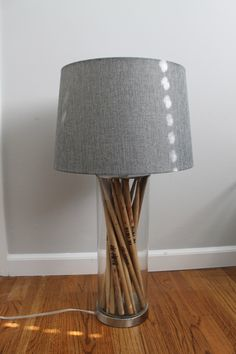 Drum stick lamp by IlluminateElise on Etsy https://www.etsy.com/listing/245183278/drum-stick-lamp