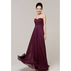 Deep purple bridesmaid dress - LOVE THIS COLOR!! so elegant