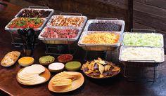 Taco Bar set up Party Ideas, Xmas Party, Party Themes, Taco Bar Catering, Catering Display, Catering Food, Taco Bar Wedding, Gluten Free Tacos, Recipes