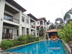 Samui Real Estate, 3 Bedroom Corner Duplex Above The Golf Course