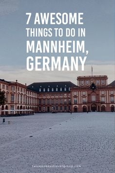 7 Awesome Things To Do in Mannheim, Germany INTERNATIONAL. That's how the city of Mannheim in Germany generally described. The label has been proved by the wide eras, depicting respective parts of the city. It might still sound vague for those who have never been in Mannheim; so if you are one of them, stick on this site and start realizing how this city can be your next destination! Here are things to do in Mannheim, Germany.