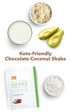 This gluten-free and vegan-friendly recipe takes just minutes to blend and has whole foods to balance your health while supporting your keto goals. Keto Friendly Chocolate, Vegan Chocolate, Vegan Friendly, Meal Replacement Shakes, Calorie Counting, Vegan Gluten Free, Whole Food Recipes, Sweet Tooth, Lose Weight
