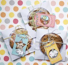 My paper journey: Birthday Tags - Lawn Fawn March Inspiration week Handmade Gift Tags, Greeting Cards Handmade, Handmade Crafts, Lawn Fawn Blog, Karten Diy, Birthday Tags, Lawn Fawn Stamps, Pretty Packaging, Card Making Inspiration