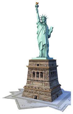 Statue de la Liberté | 3D Puzzle Building | 3D Puzzles | Produits | FR…