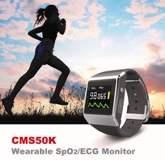 149.99$  Watch here - http://ali49b.worldwells.pw/go.php?t=32764609650 - SpO2, ECG and pedometer display 3 in 1 Wearable Digital pulse oximeter new type sport monitor device with CE FDA