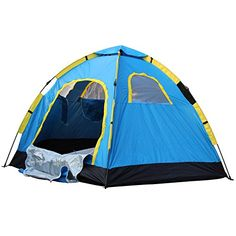 SALE Outdoor Large 6 Person Hiking Camping Automatic Instant Pop up Family Tent Solomone Cavalli http://www.amazon.com/dp/B00XHS1KHE/ref=cm_sw_r_pi_dp_M9xtwb0BD2SBT