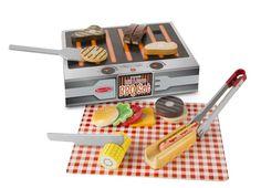 Speelgoed barbecue set - Speelgoed van hout, kinder verkleedkleding, speelgoed poppen en pluche knuffels