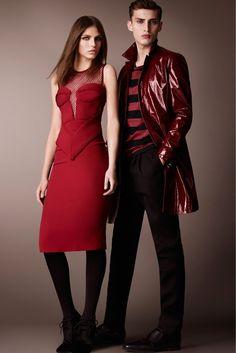 Gothic Couture: Burberry Prorsum RTW Pre-Fall 2013 via Style.com