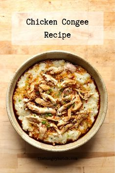 If you're looking to stretch leftover roast chicken into a few more warming, comforting meals, then this recipe for chicken congee (rice porridge) is a great one to have on standby. Roast Chicken, How To Cook Chicken, Savoury Dishes, Food Dishes, Chicken Flavors, Chicken Recipes, Vegetarian Main Course, Rice Porridge, Food Blogs