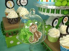 Safari 1st Birthday Party - Thomas | CatchMyParty.com