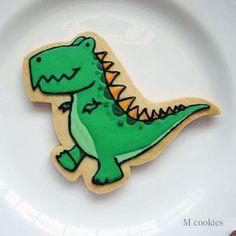 #mcookies #cookies #dino #dinossauro #trex #dinocookies #aniversario #presente #personalizado #bolachinha #cute