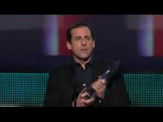 Steve Carell's That What She Said acceptance speech - I'd reenact this if I ever win an award